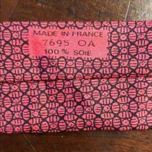 Hermes Accessories - HERME'S 100% Silk Tie 7695 OA